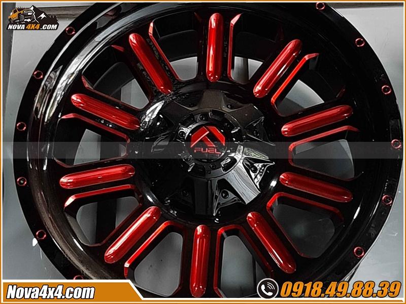 Chuyên bán mâm Fuel xe Bán tải cực tốt tại Nova4x4