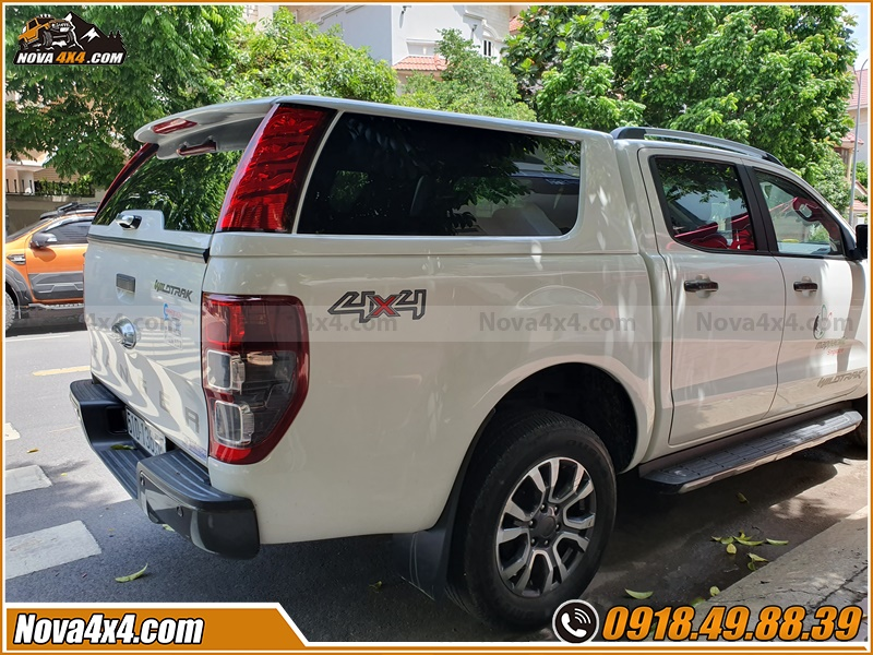 Độ nắp thùng Xe bán tải Ford Ranger BT50 Hilux Triton Navara Colorado Dmax có tác dụng gì?